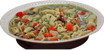 Gemüse-Suppe