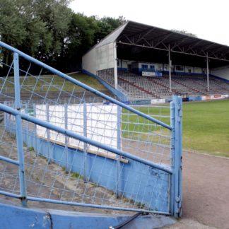 Tribüne und Ränge Stadion Westfalia Herne