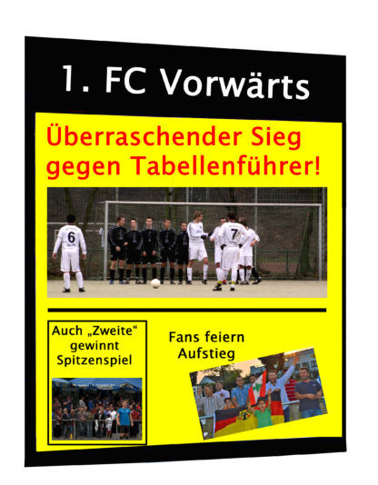Muster Stadion-Zeitung