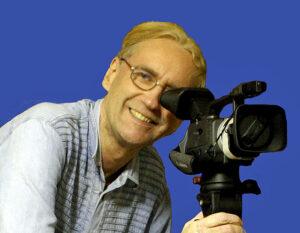 Journalist Alexy an der Kamera